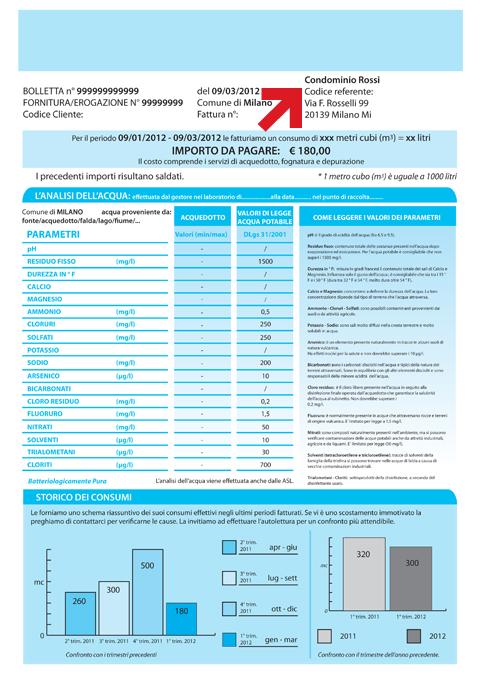 CODICE REFERENTE Nelle Fatture Condominiali è Il Codice Che Identifica  Lu0027indirizzo Di Spedizione Di Un Unico Incaricato Per Più Utenze (esempio:  ...